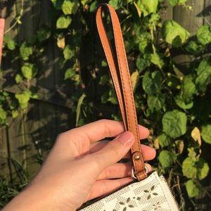 Michael Kors Bags - Michael Kors Jet Set Laser-Cut Wristlet